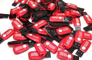USB BELLEK ÜZERİ BASKI